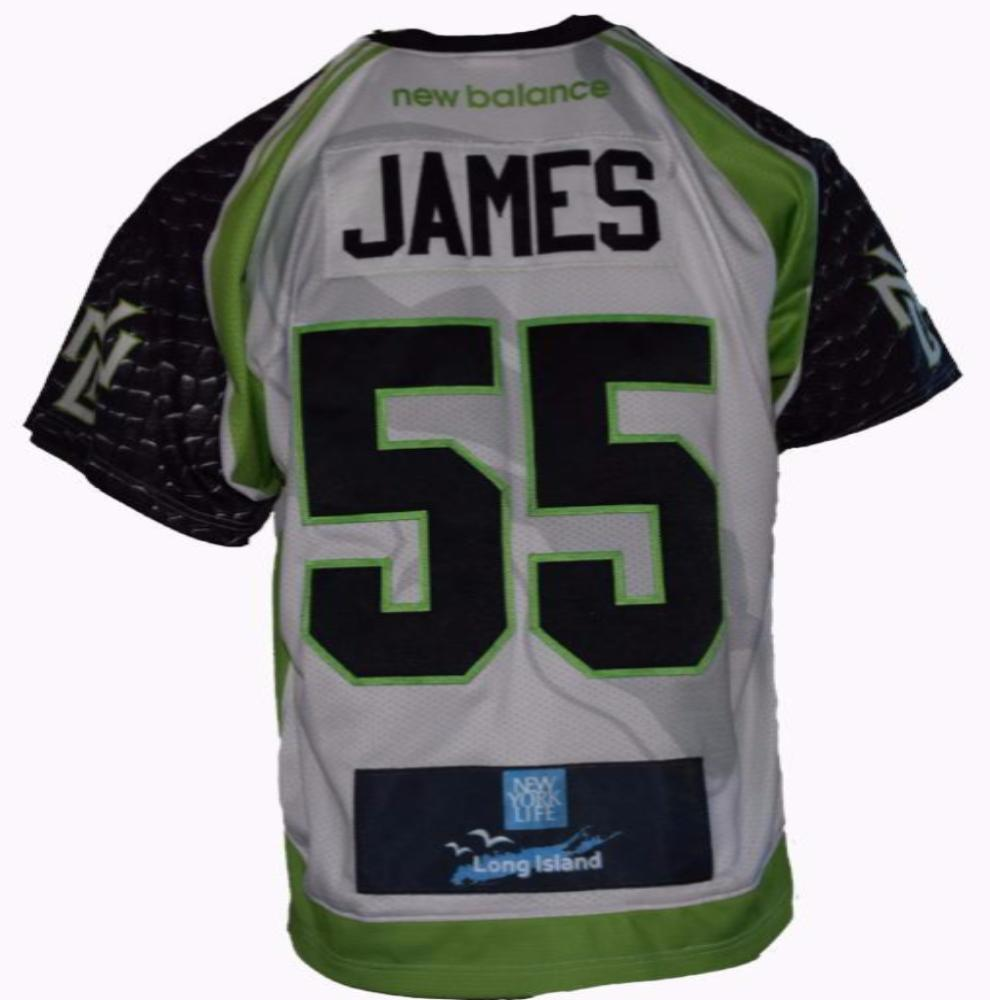2017 Tucker James #55 Game Worn & Game Issued Jerseys