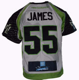 2017 Tucker James #55 Game-Worn & Game Issued Jerseys