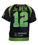 2018 Jeff Reh Black #12 Game-Worn Jersey