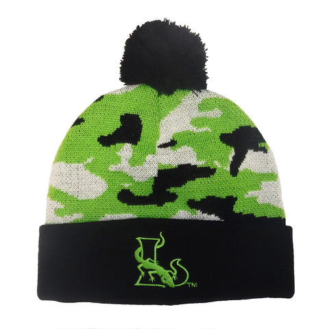 Camo Knit Winter Hat - FINAL SALE