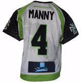 2017 Will Manny #4 Game-Worn Jersey