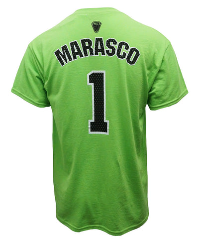 JoJo Marasco #1 Green Player Tee - FINAL SALE