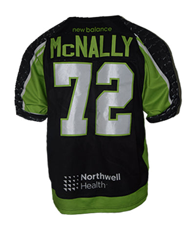 2019 Kevin McNally #72 Game-Worn Home & Away Jerseys