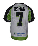 2019 Brett Osman #7 Game-Worn Black & White Jerseys