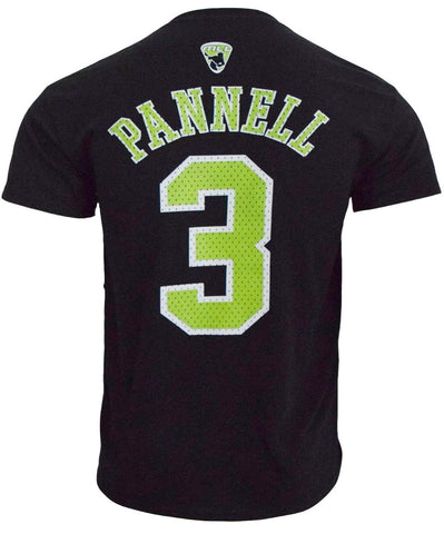 Rob Pannell #3 Black Player Tee - FINAL SALE