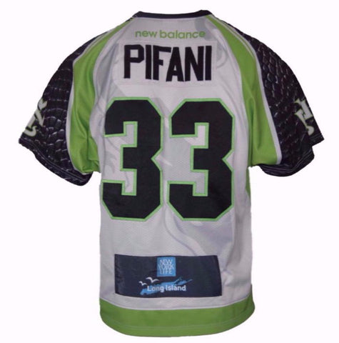 2017 Austin Pifani #33 Game-Worn Jersey