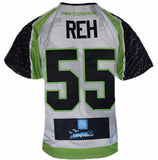2017 Jeff Reh #55 Game-Worn Jersey