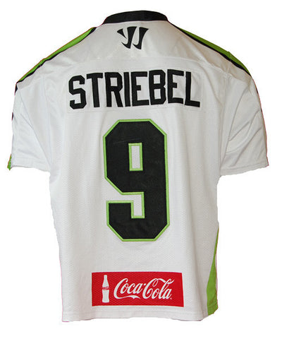 Matt Striebel #9 Game-worn 2014 Jersey
