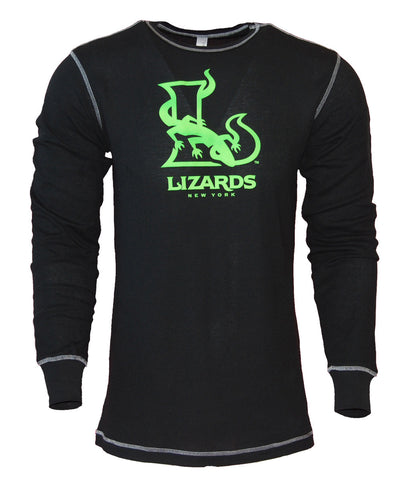 Black Long Sleeve Thermal - FINAL SALE