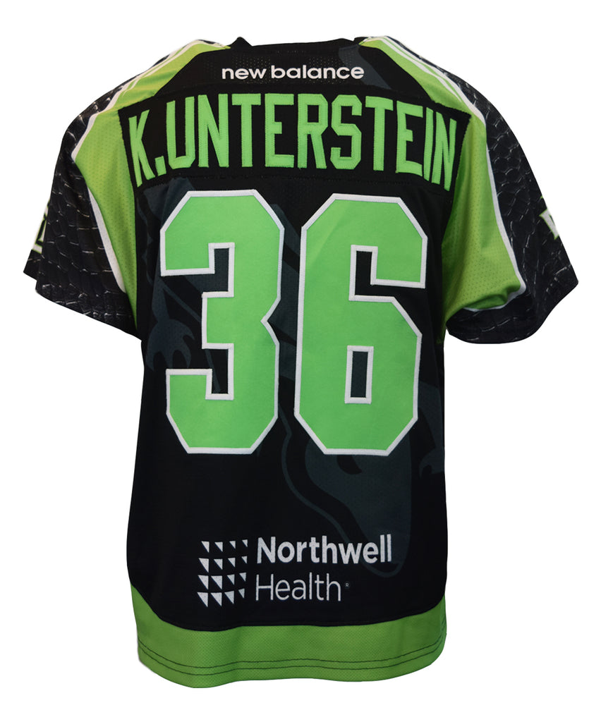 2018 Kevin Unterstein Black #36 Game-Worn Jersey