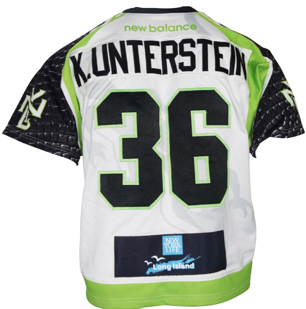 2017 Kevin Unterstein #36 Game-Worn Jersey