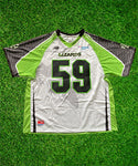 2020 #59 Game-Issued Black & White Jersey
