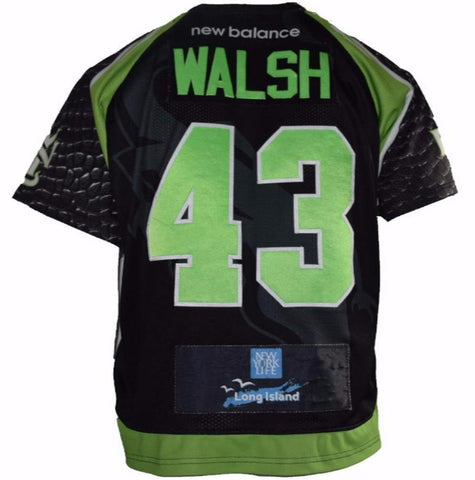 2017 Ryan Walsh #43 Game-Worn Jersey