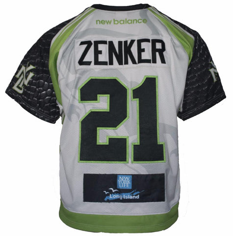 2017 Tom Zenker #21 Game Worn & Game Issued Jerseys