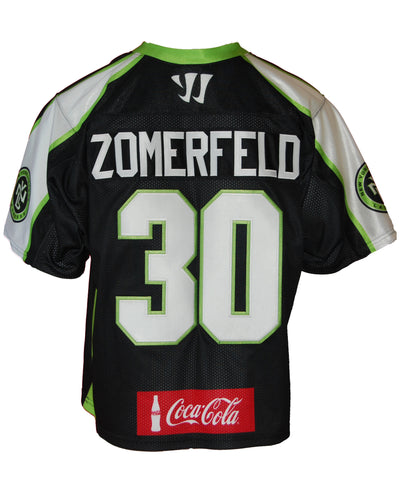 Alex Zomerfeld #30 Game-worn 2014 Jersey