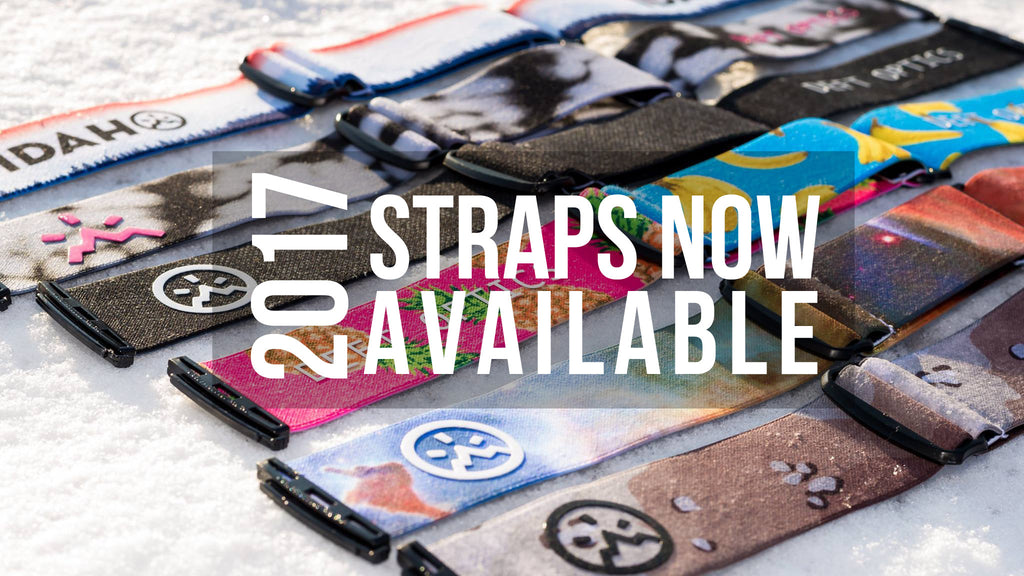 Check it out!! 2017 Straps now available!