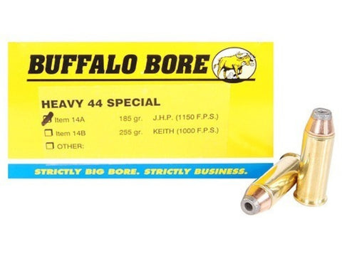 *BUFFALO BORE,      Ammunition 44 Special 180 Grain Jacketed Hollow Point