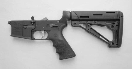 ANDERSON RIFLES,     ANDERSON COMPLETE LOWER -HOGUE