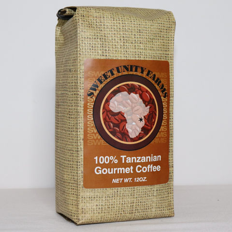 Tanzanian 12oz, Medium Roast, Ground