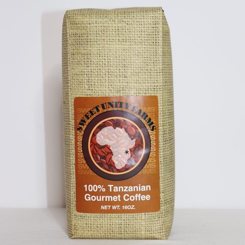 Tanzanian 16oz, Medium Roast, Ground