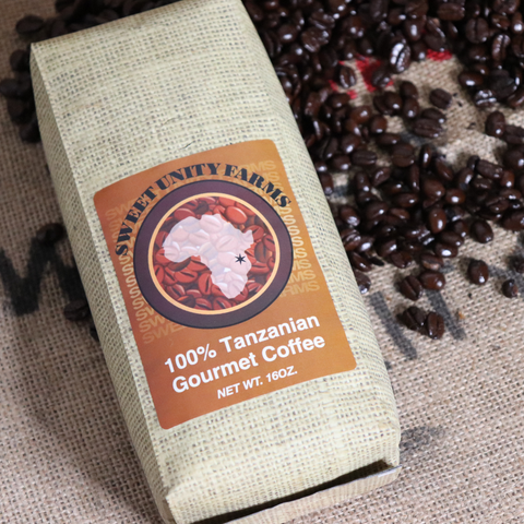 Tanzanian 16oz, Medium Roast, Whole Beans