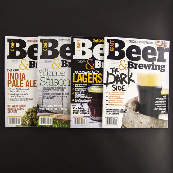 CB&B Magazine 2014 Print Bundle - Craft Beer & Brewing