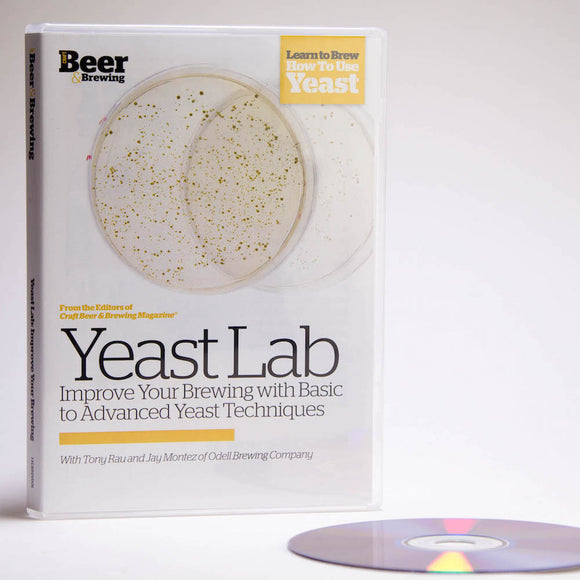 Yeast Lab: Basic & Advanced Yeast Culturing & Banking (DVD) - Craft Beer & Brewing