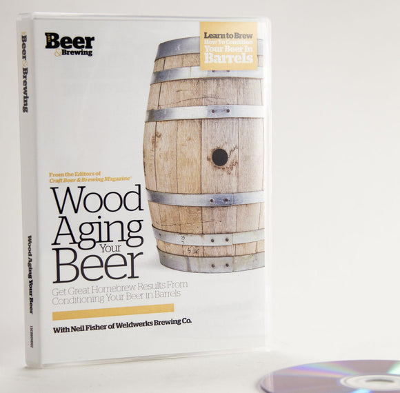 Wood Aging Your Beer (DVD) - Craft Beer & Brewing