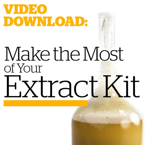 Make the Most of Your Malt Extract Kit (Video Download)