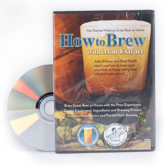 How to Brew With Malt Extract (DVD) - Craft Beer & Brewing