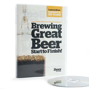 Brewing Great Beer Start-To-Finish (DVD) - Craft Beer & Brewing