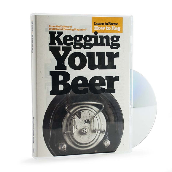Kegging Your Beer (DVD) - Craft Beer & Brewing