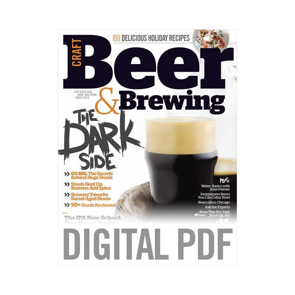 Winter 2014 Issue (PDF Download) - Craft Beer & Brewing