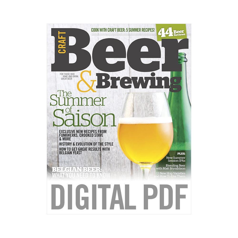 Summer 2014 Issue Pdf Download Craft Beer Brewing