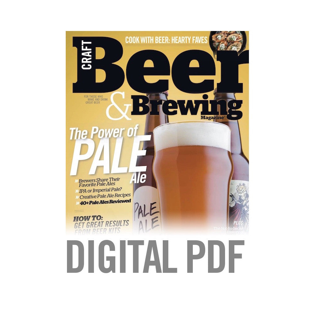 February March 2015 Issue Pdf Download Craft Beer Brewing