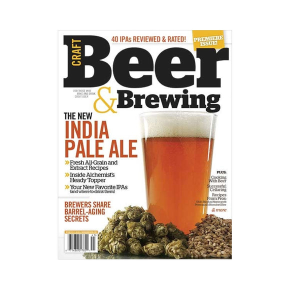 Spring 2014 Issue (Premiere Issue) - Craft Beer & Brewing