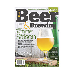 Summer 2014 Issue (Print) - Craft Beer & Brewing