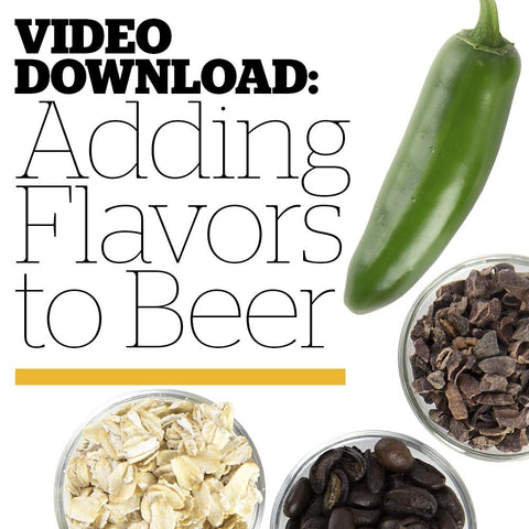Adding Flavors to Beer (Video Download)