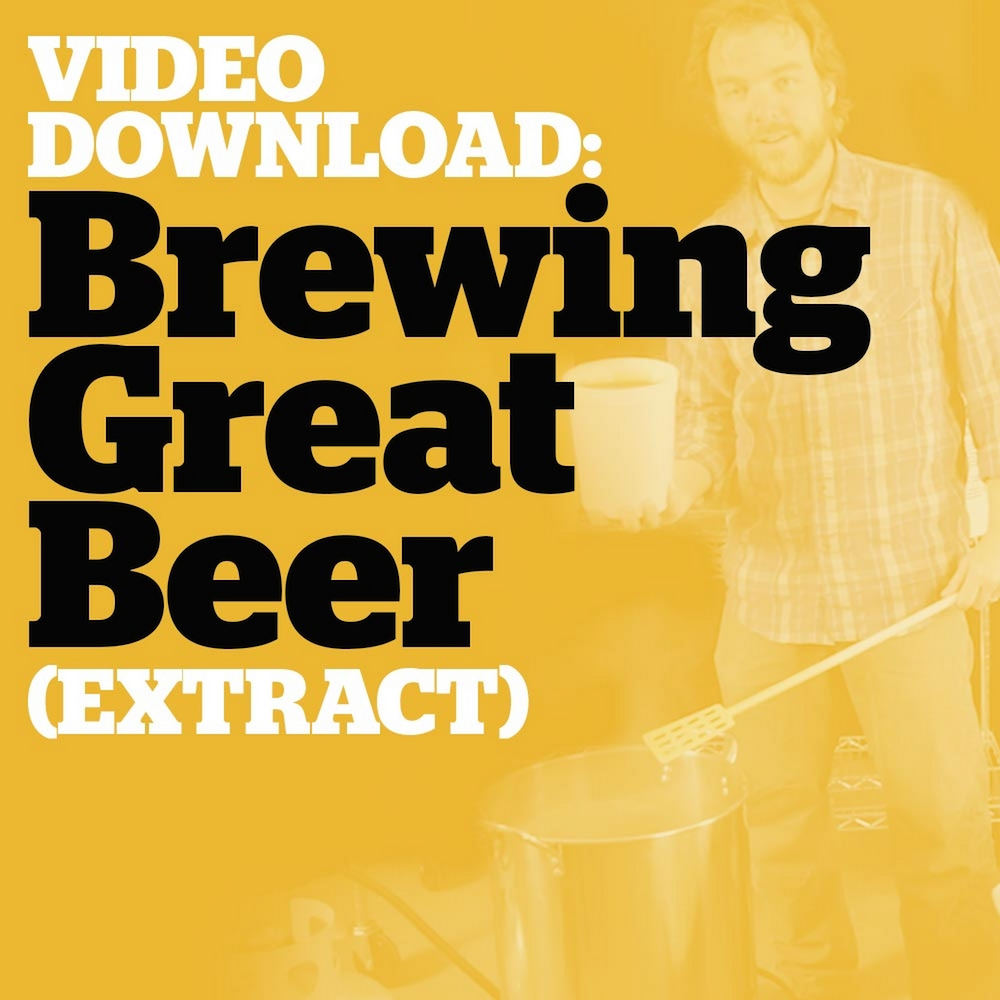 Brewing Great Beer Start-To-Finish (Extract Brewing Video Download)