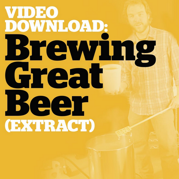 Brewing Great Beer Start-To-Finish (Extract Brewing Video Download) - Craft Beer & Brewing