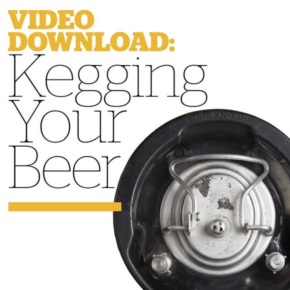 Kegging Your Beer (Video Download) - Craft Beer & Brewing