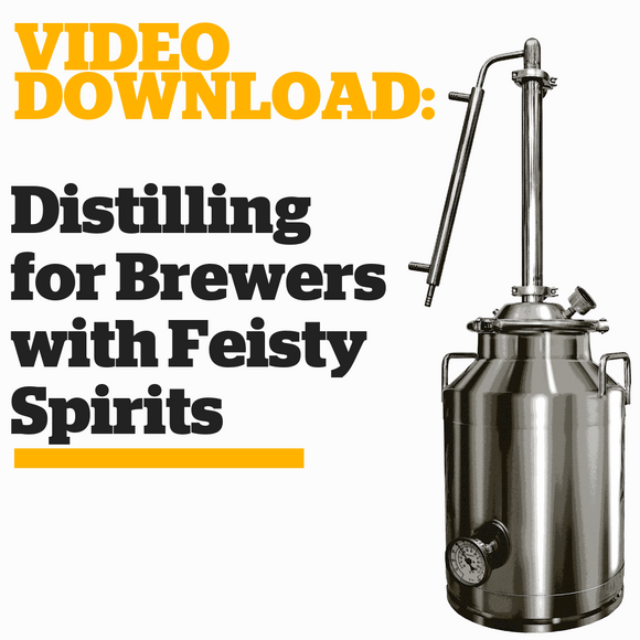 Distilling for Brewers with Feisty Spirits - Craft Beer & Brewing