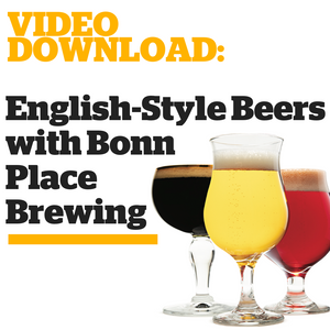 English-Style Beers with Bonn Place Brewing - Craft Beer & Brewing