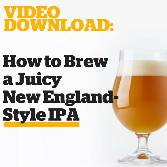 How to Brew a Juicy New England-Style IPA (Video Download) - Craft Beer & Brewing