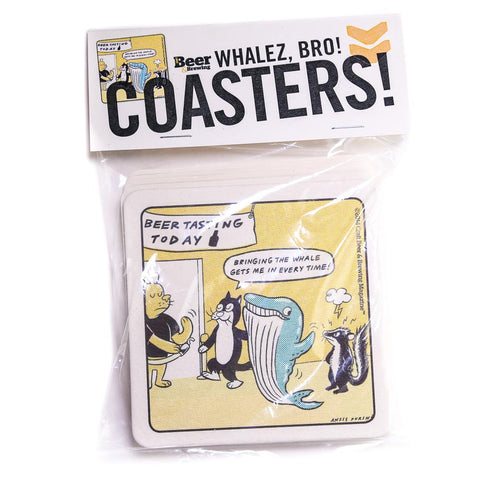 Whalez Bros Coasters (Pack of 8)