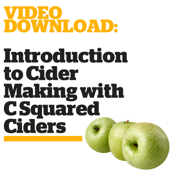 Introduction to Cider Making with C Squared Ciders (Video Download)
