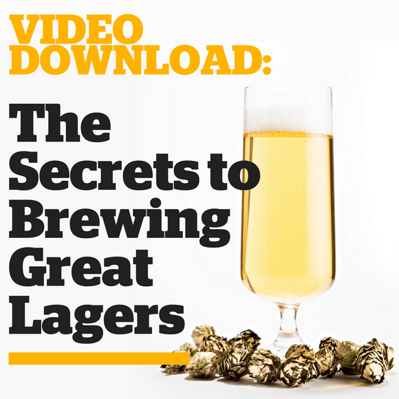 The Secrets to Brewing Great Lagers (Video Download) - Craft Beer & Brewing