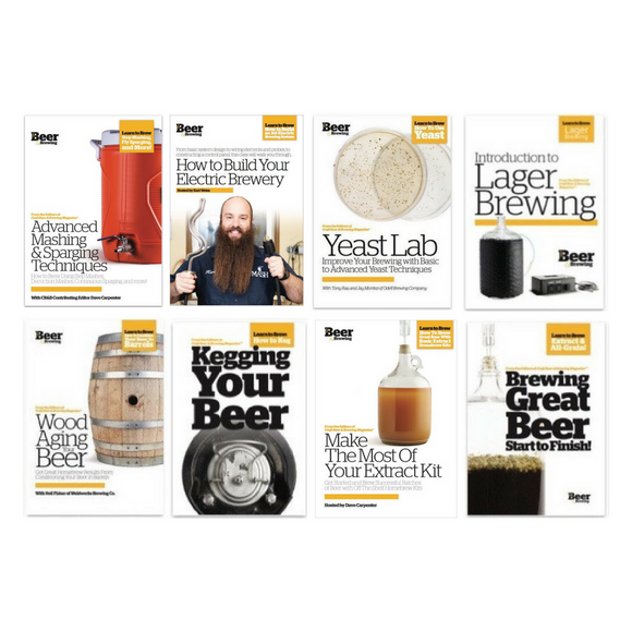 Homebrewers DVD Box Set - Craft Beer & Brewing
