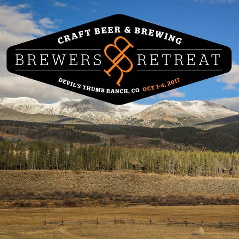 Brewers Retreat: Devil's Thumb Ranch, Colorado (October 1-4, 2017)