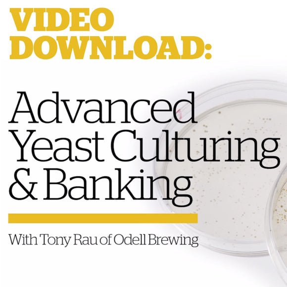 Advanced Yeast Culturing & Banking (Video Download) - Craft Beer & Brewing